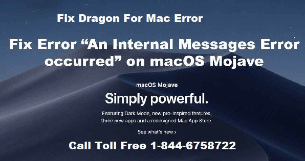 fix dragon for mac error